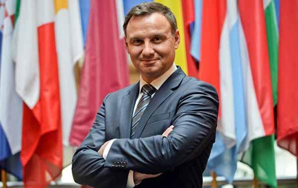 действующий президент Польши 2017 - Анджей Дуда