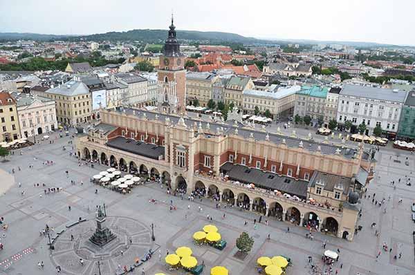 фото площади Кракова