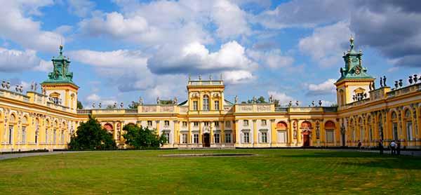 фото Вилянувский дворец