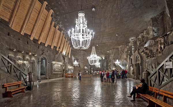 зал подземного города
