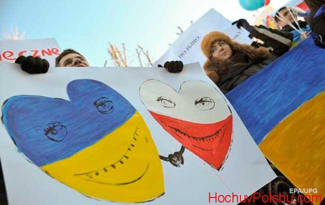 сколько украинцев в Польше 2017
