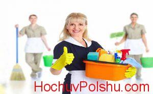 работа уборщиком в Польше