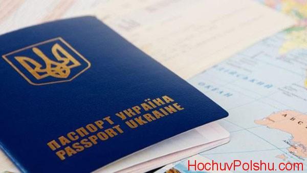 наличие заграничного паспорта и рабочей визы