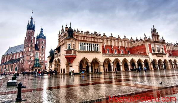 Краков – это один из самых красивых городов в Польше
