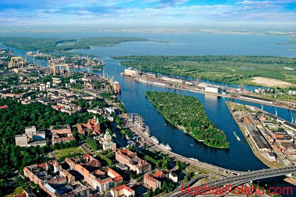 Щецин – город, расположенный в северо-западной части Польши
