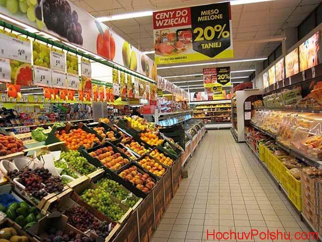 магазина Biedronka в Польше