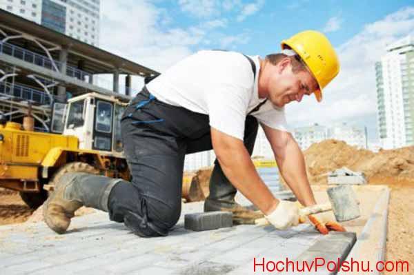 Работа в Польше строителем в 2019 году