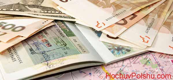 Стоимость визы в Польшу для украинцев в 2020 году