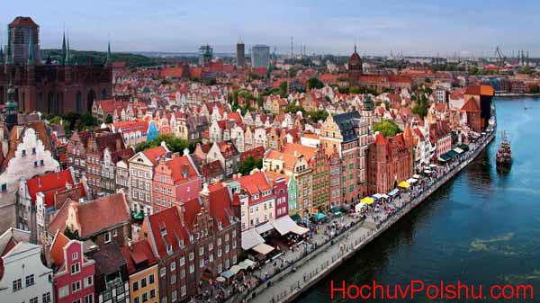 Гданьск представляет собой северный польский город