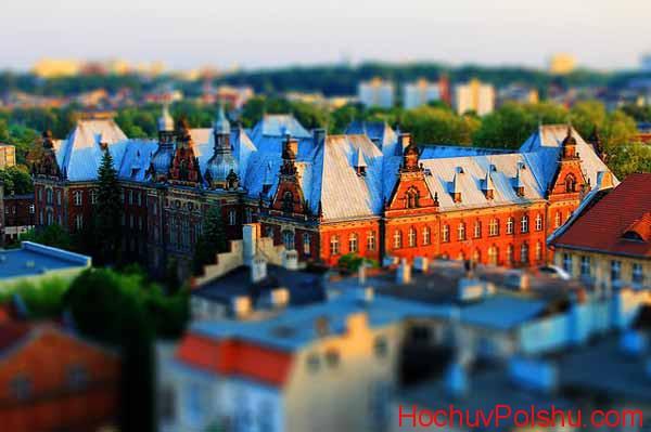 Быдгощ – город, расположенный в центральной части Польши