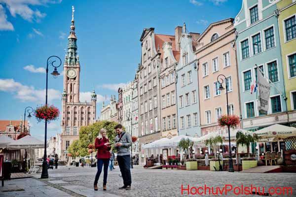 В Гданьске можно найти небольшие ресторанчики