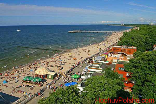 Польские морские курорты