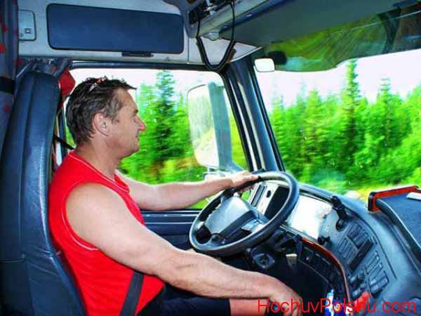 Работа водителем международником в Польше