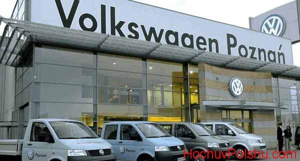 Работа в Польше на заводе Volkswagen