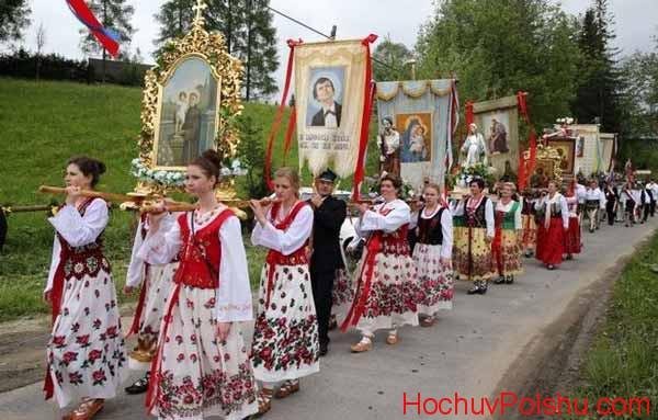 церковних та державних свят Польщі