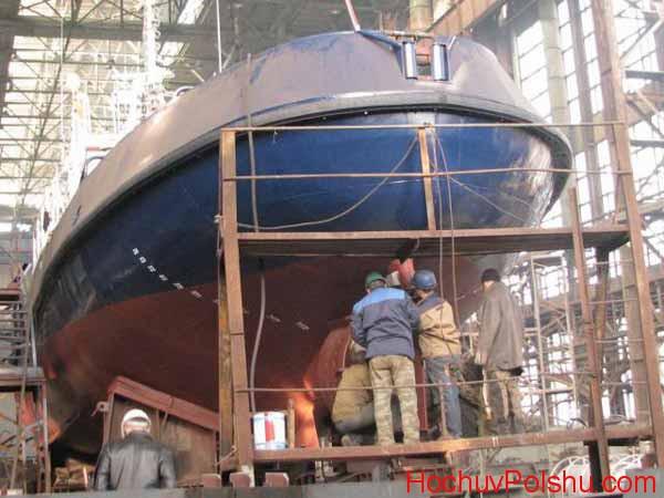 Возможности работы на судостроительном заводе