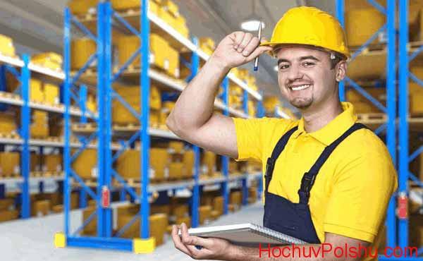 Многие польские компании заинтересованы в официальном трудоустройстве кладовщиков