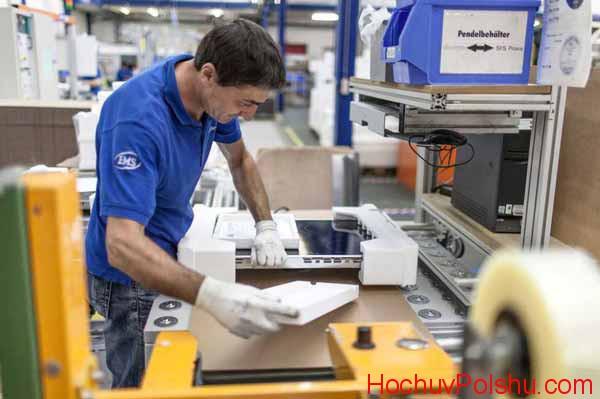 положительные отзывы работе в Польше на заводе Электролюкс