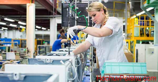 В Польше работают филиалы многих известных брендов