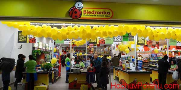 Работа в Польше в магазине Biedronka в 2020 году