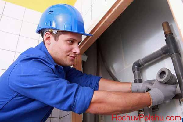 Работа сантехником в Польше для украинцев