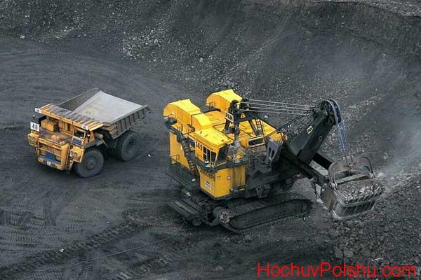 Работа водителем на шахтах в Польше