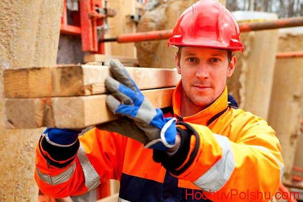 Работа строителем в Польше для украинцев