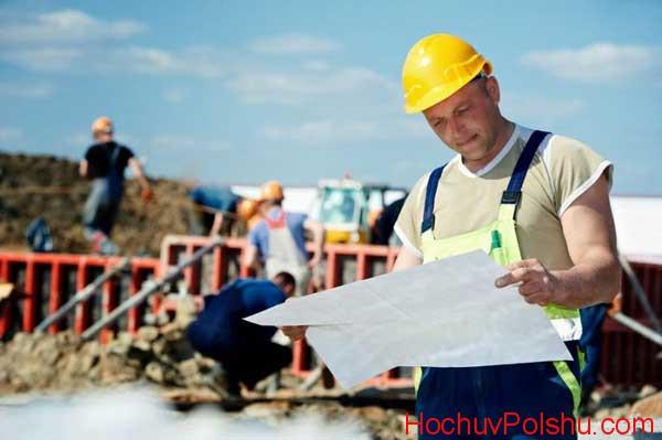 работа в Польше инженером-строителем