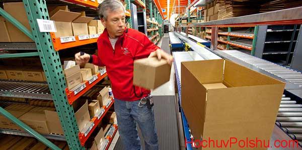 работа на складах не требует особых навыков...