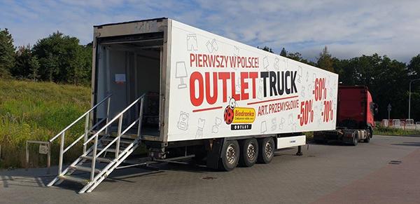 Аутлет Biedronka Outlet Trucks