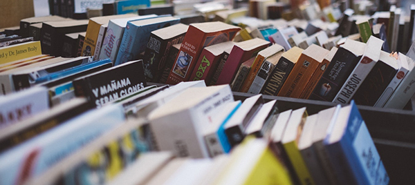 Польские книги на прилавке